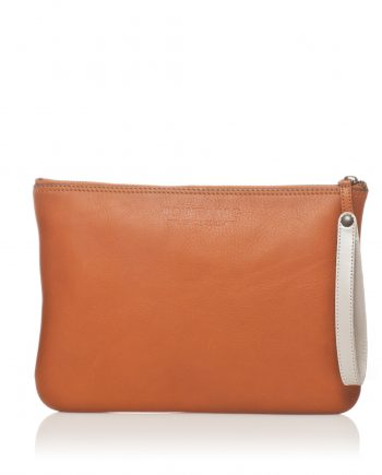 Pochettes cuir camel Bonnie and Bag