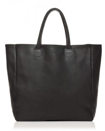Sac cuir Noir Bonnie and Bag