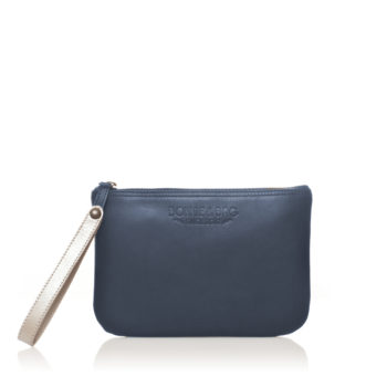 REVBL pochette bleue cuir scaled