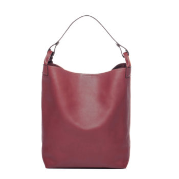 sac seau bordeaux Escapade par Bonnie and Bag