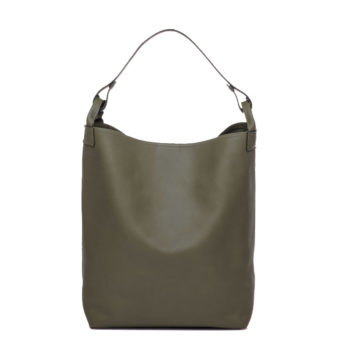sac en cuir olive Escapade par Bonnie and Bag